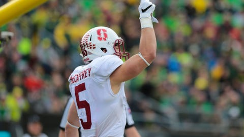 Skip Bayless: McCaffrey is a brilliant receiver, but he's more of a 'luxury back'