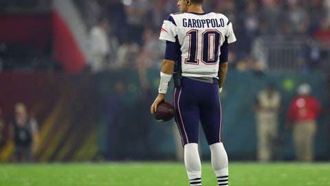 Tom Brady is likely hoping the Patriots offload Garoppolo