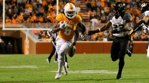 Indianapolis Colts: Alvin Kamara, RB, Tennessee