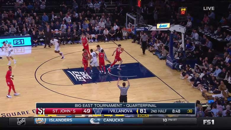 Villanova Wildcats with 15 3-pointers against St. John's Red Storm