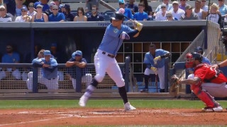 HIGHLIGHT: Corey Dickerson hits his 4th homer of the spring