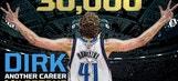 Dirk Nowitzki joins exclusive 30K club