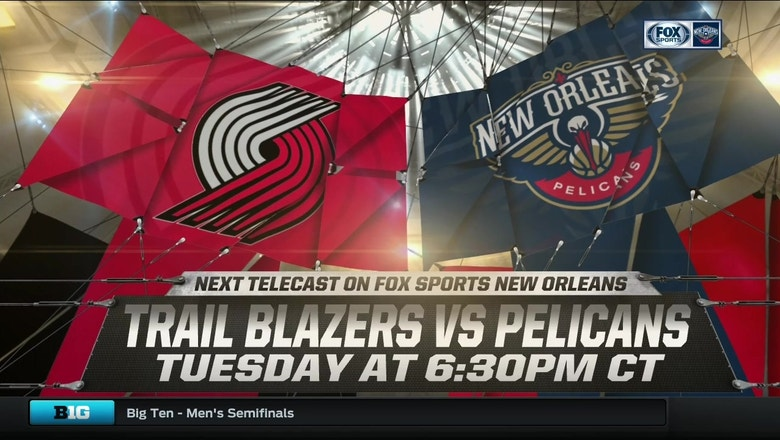 Pelicans Live: New Orleans host Portland