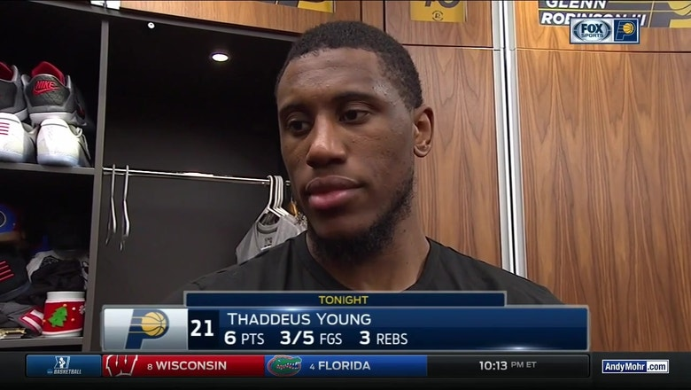 Thaddeus Young: Pacers have to 'go out there and be ready at all times'