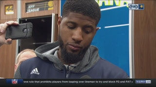 PG13 unhappy with ending of Pacers game against T-Wolves