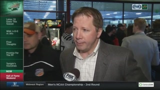 Tom Chorske inducted into the Minneapolis Hockey Hall of Fame
