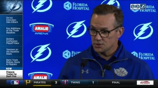 Steve Yzerman explains Lightning's handful of moves