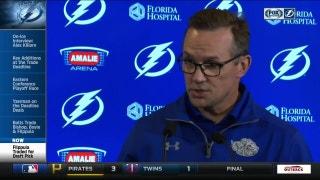 Steve Yzerman explains Lightning's handful of moves