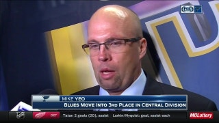 Yeo: Allen was 'outstanding' in Blues shutout
