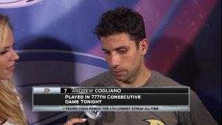 Andrew Cogliano: One of the biggest wins of the season