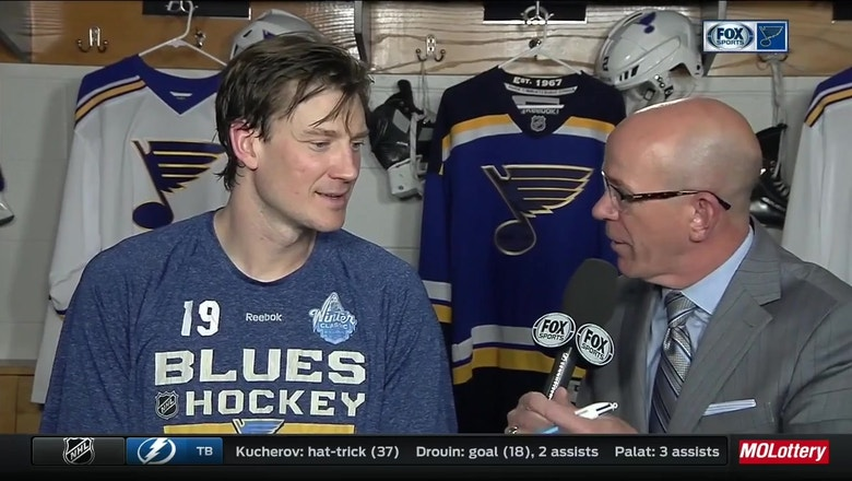 Bouwmeester: Blues players are 'stepping up' when others are injured