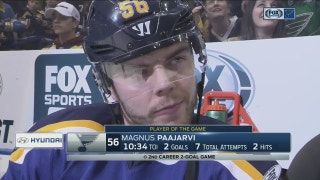 Paajarvi credits 'confidence and attacking' for his strong play