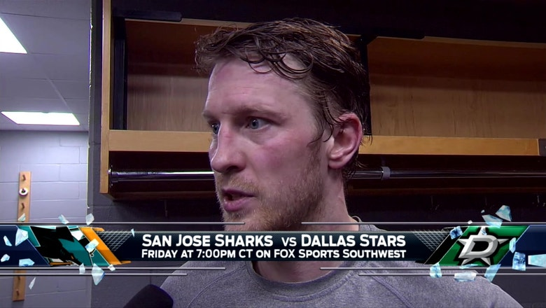 Ales Hemsky on forcing overtime in loss to Blackhawks