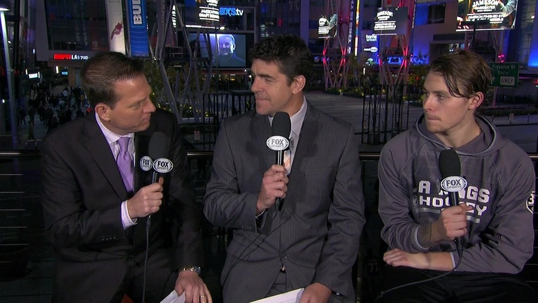Adrian Kempe joins the 'Kings Live' crew after a 5-2 win