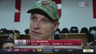 Nick Bjugstad says Panthers showed how good they can be