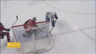 WATCH: Burnsville native Brock Boeser notches goal in NHL debut