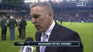 Vermes on Sporting KC's win: 'It's always nice to score at home'