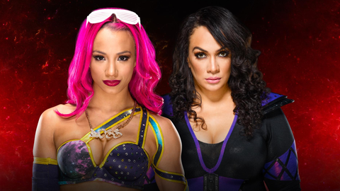Sasha Banks vs. Nia Jax