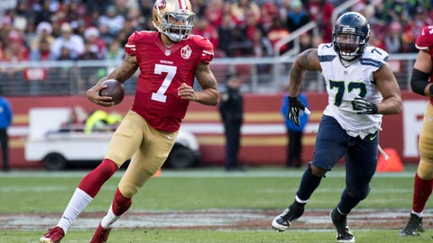 Teams are now apparently scared by Colin Kaepernick because he's vegan