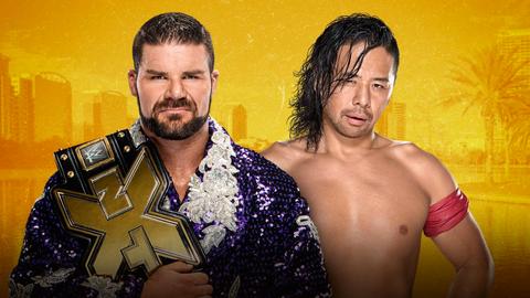 Bobby Roode vs. Shinsuke Nakamura for the NXT Championship