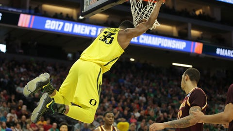 7:10 p.m. ET - (3) Oregon vs. (11) Rhode Island - TBS