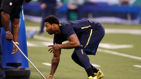 Shannon: Myles Garrett put up eyebrow-raising Combine numbers, but they don't match his performance on tape
