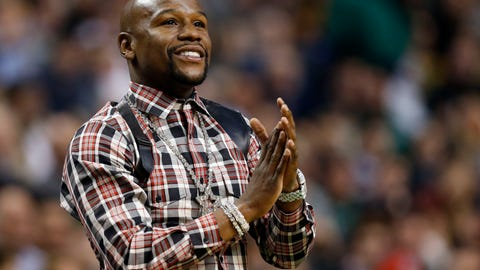Skip: Floyd Mayweather is not the main draw in this fight