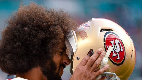 At some point, Kaepernick had an epiphany