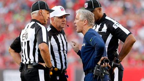 Leaping ban, full-time refs, shortened overtimes among National Football League  competition committee proposal