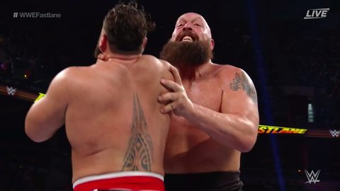 The Big Show defeated Rusev
