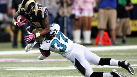 October 15: Los Angeles Rams at Jacksonville Jaguars, 4:05 p.m. ET