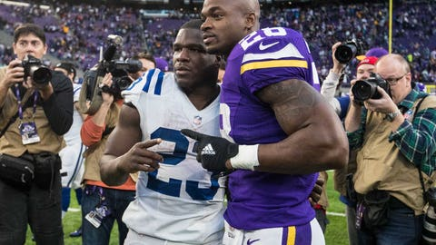 Shannon: Adrian Peterson needs to play with a quality QB