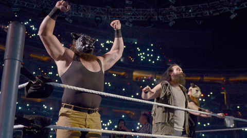 Fox Sports: Where you find yourself now on SmackDown is kind of similar to the opportunity Braun Strowman had on Raw after breaking away from the Wyatts. What has been your reaction to what Strowman's done on Raw?
