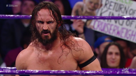 Neville defeated Jack Gallagher to retain the Cruiserweight Championship