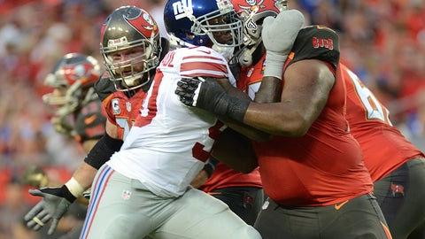October 1: New York Giants at Tampa Bay Buccaneers, 4:05 p.m. ET