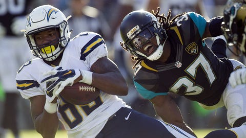 November 12: Los Angeles Chargers at Jacksonville Jaguars , 1 p.m. ET