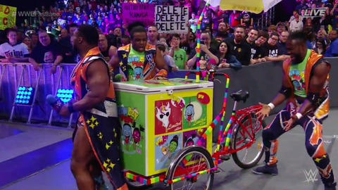 The New Day introduced their New Day ice cream cart