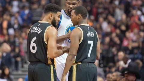 Toronto Raptors vs. Golden State Warriors: +2155 (431/20)