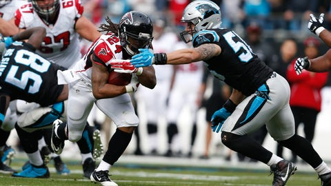 November 5: Atlanta Falcons at Carolina Panthers, 1 p.m. ET