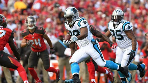 October 29: Carolina Panthers at Tampa Bay Buccaneers, 1 p.m. ET