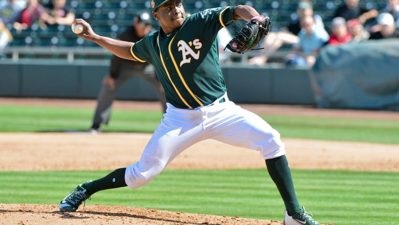 Expectations High For A's Rookie Starter Jharel Cotton