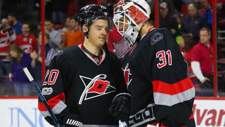 Hurricanes G Eddie Lack Carried Off on Stretcher Following Canes' OT Loss