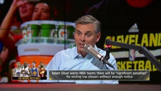 NBA has a problem with multiple stars sitting - Can Adam Silver fix it?  | THE HERD