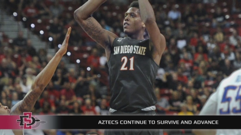 San Diego State advances to the Mountain West semifinals