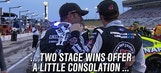 Stage Trophies Serve as Consolation Prize for Kevin Harvick