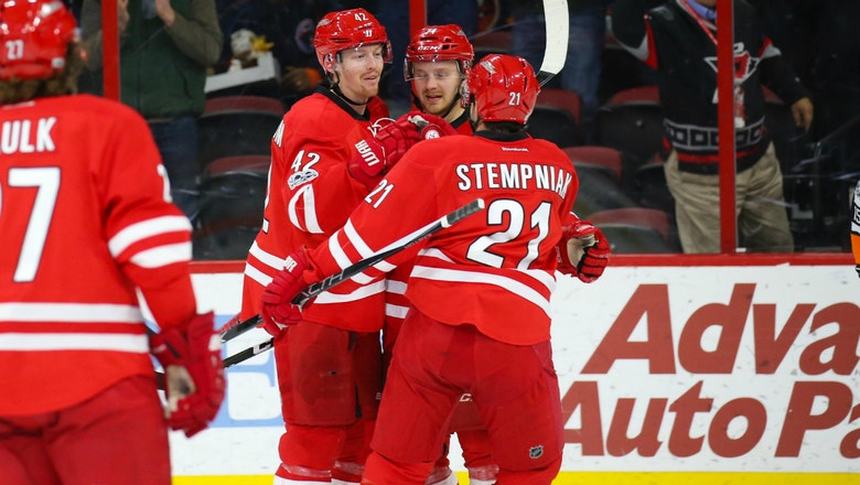 Hurricanes LIVE To Go: Canes win in their last meeting of the season with the Detroit Red Wings