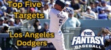 Fantasy Baseball Draft Advice: top five Los Angeles Dodgers