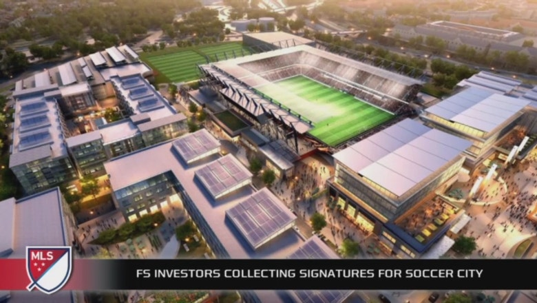 FS Investors are collecting signatures for Soccer City in San Diego