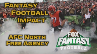 NFL Free Agency Fantasy Football Impact: AFC North