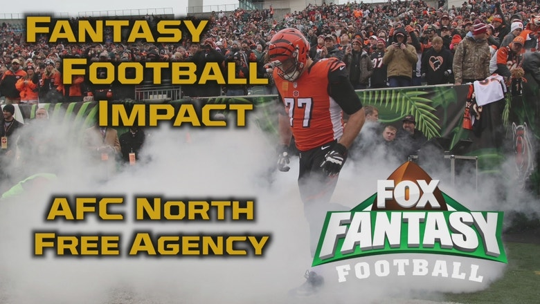 NFL Free Agency Fantasy Football Impact: AFC North